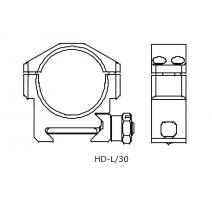 IOR HD-L/30 laikiklis Taikiklių montavimui IOR