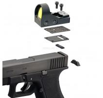 MiniDot HD laikiklis skirtas Glock 10 mm Taikiklių montavimui Delta Optical